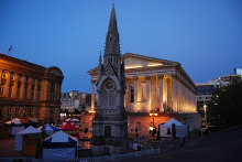 Birmingham, Chamberlain Memorial and Town Hall, West Midlands © N Chadwick